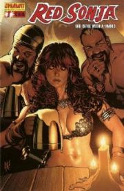 Red Sonja #7 Adam Hughes Cover